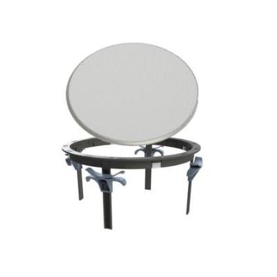 BZ68 Zip-Clip Mounting Ring and Round Grill